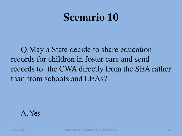 Scenario 10