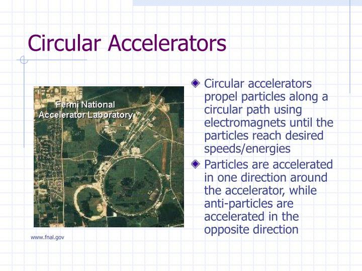 Circular Accelerators
