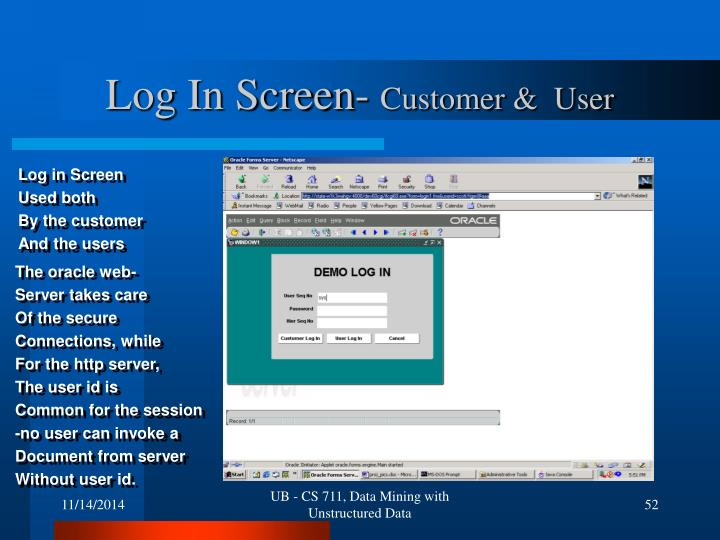 Log In Screen-