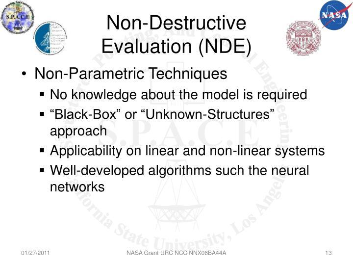 Non-Destructive Evaluation (NDE)