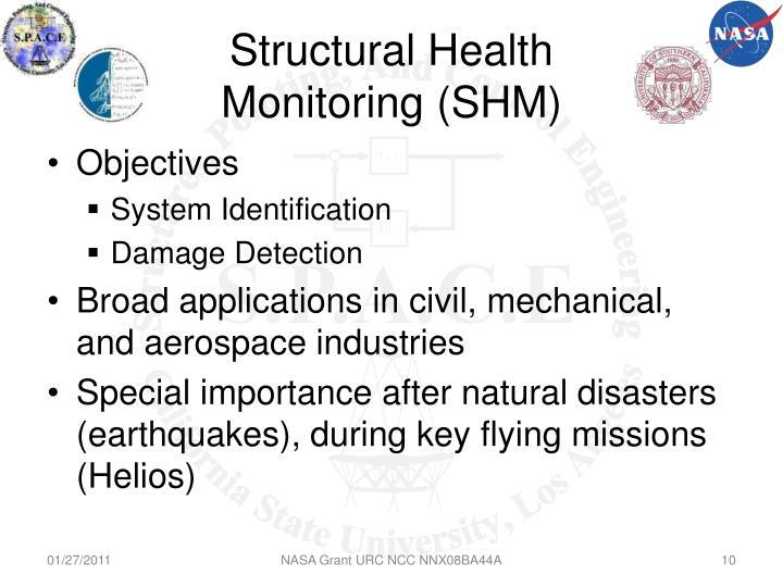 Structural Health Monitoring (SHM)