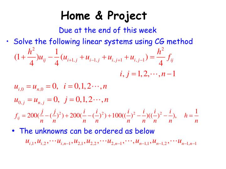 Home & Project