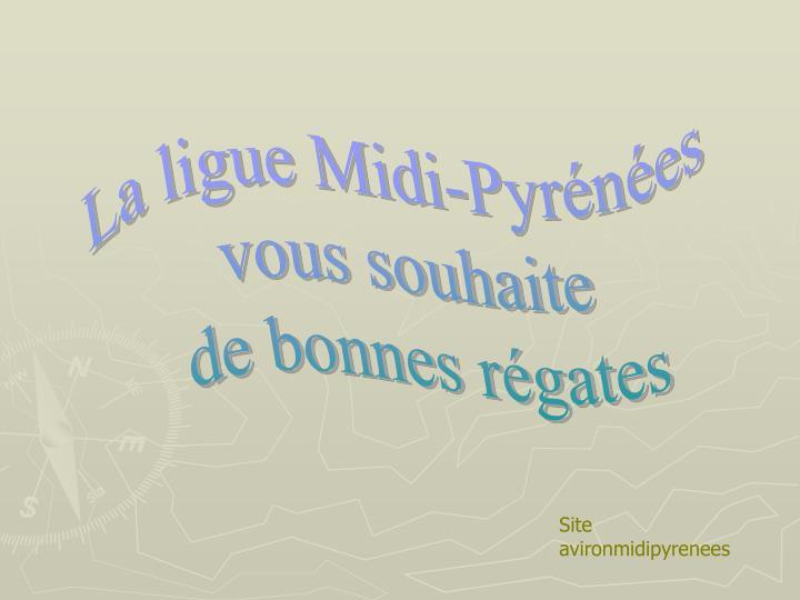 La ligue Midi-Pyrénées