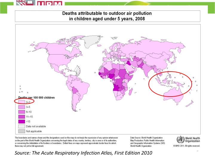 Source: The Acute Respiratory Infection Atlas, First Edition 2010