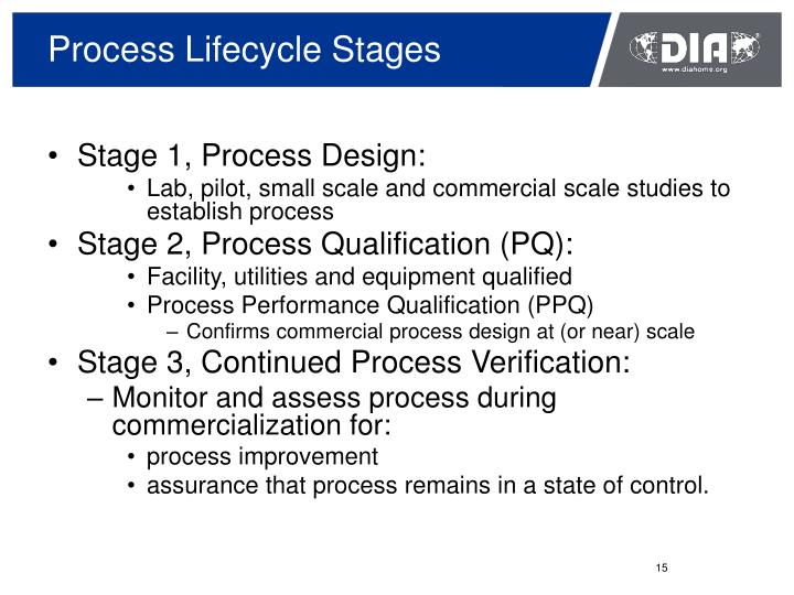 Process Lifecycle Stages