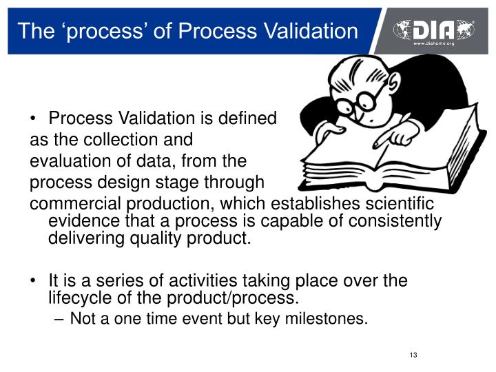 The 'process' of Process Validation