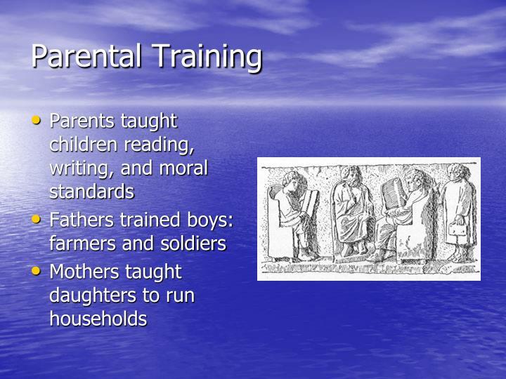 Parental Training