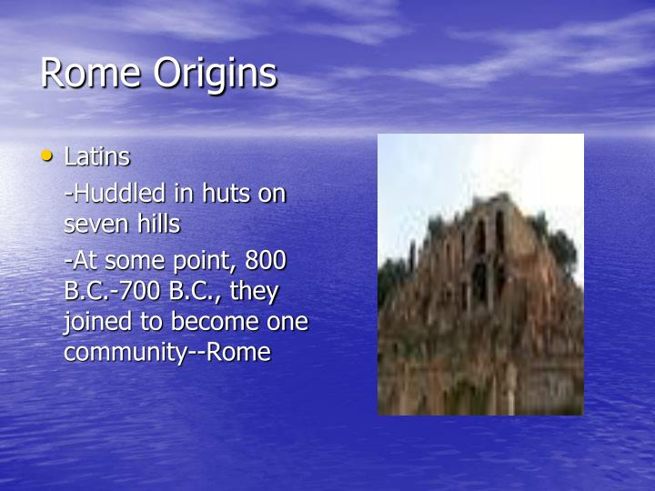 Rome Origins