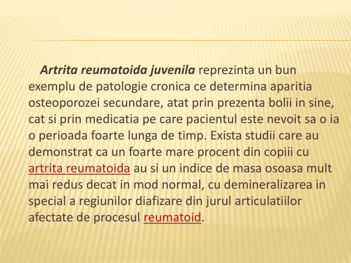 Artrita reumatoida juvenila