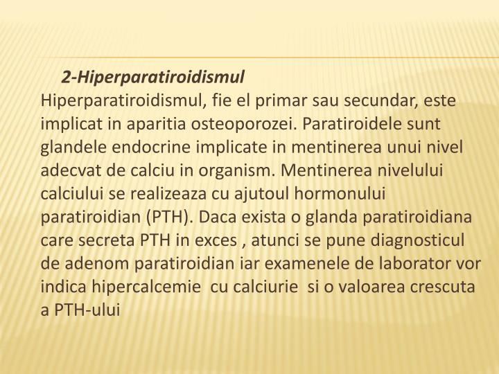 2-Hiperparatiroidismul