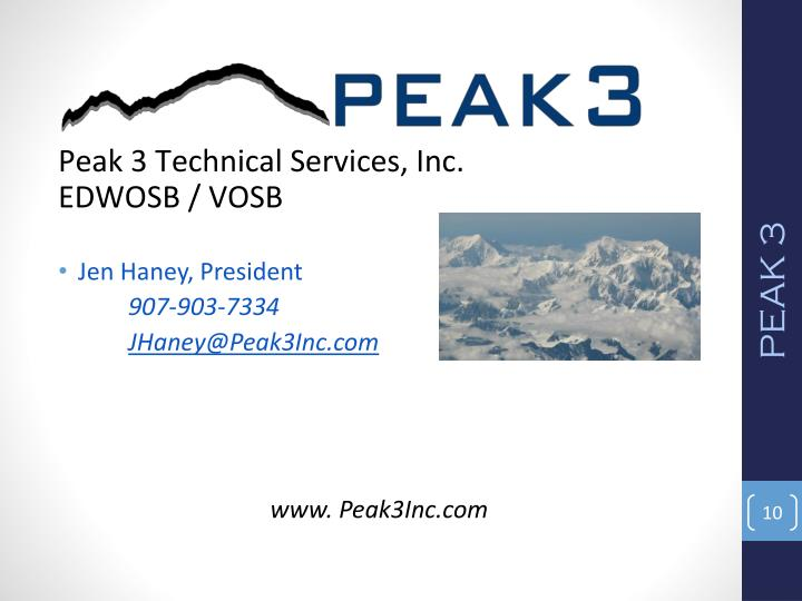 Peak 3 Technical Services, Inc.