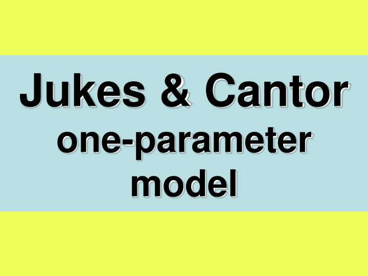 Jukes & Cantor