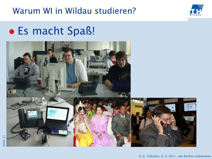 Warum WI in Wildau studieren?