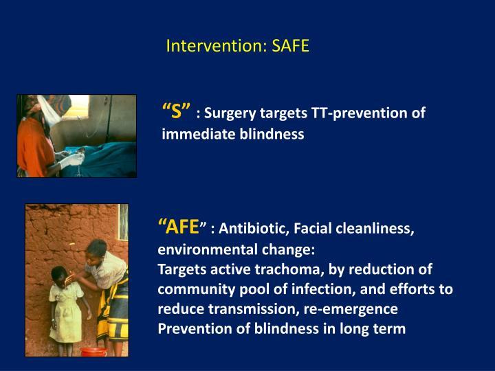 Intervention: SAFE