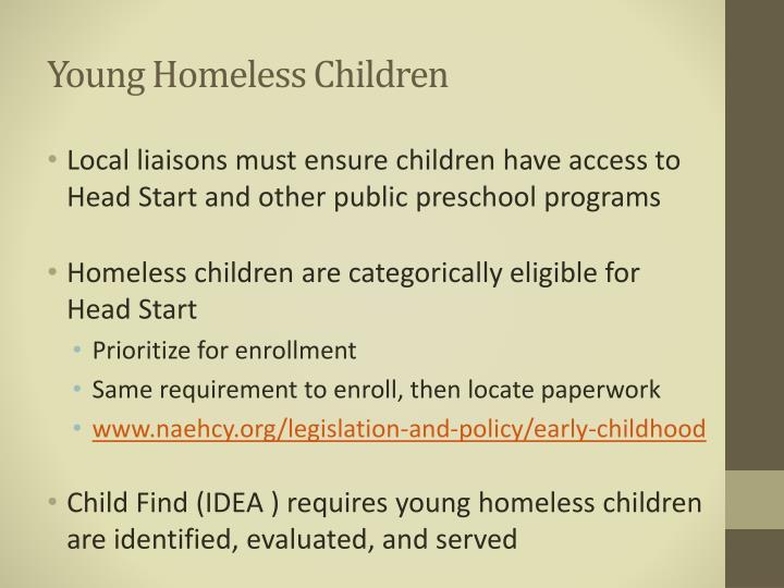 Young Homeless Children