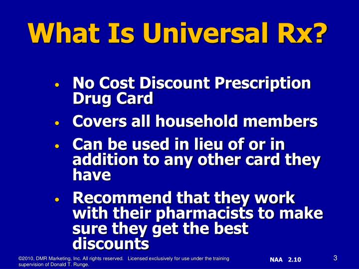 No Cost Discount Prescription Drug Card