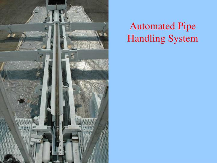 Automated Pipe