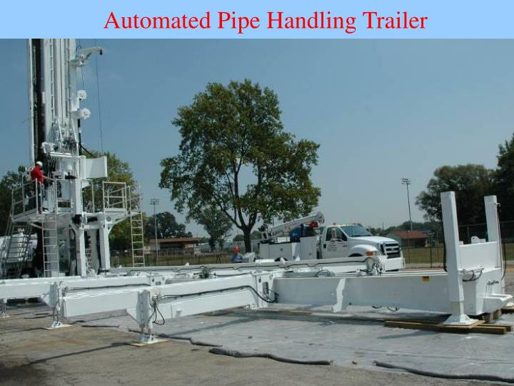 Automated Pipe Handling Trailer