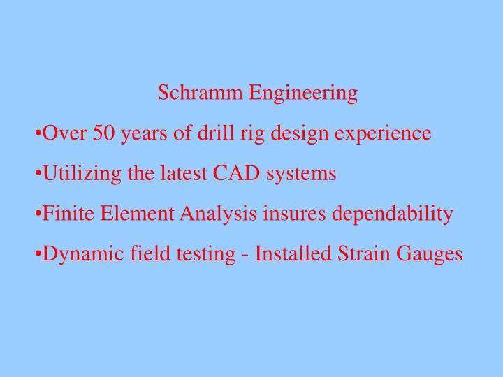 Schramm Engineering