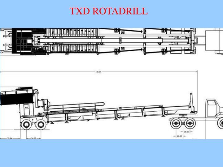 TXD ROTADRILL