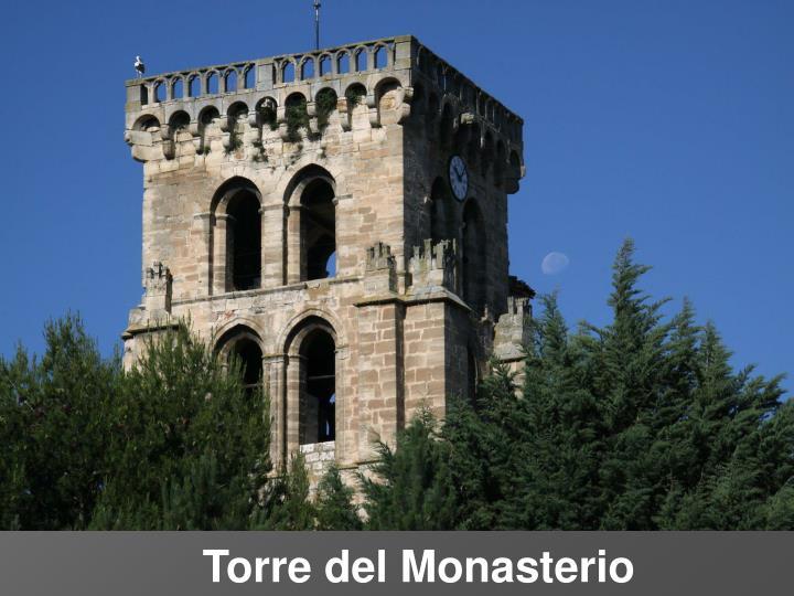 Torre del Monasterio