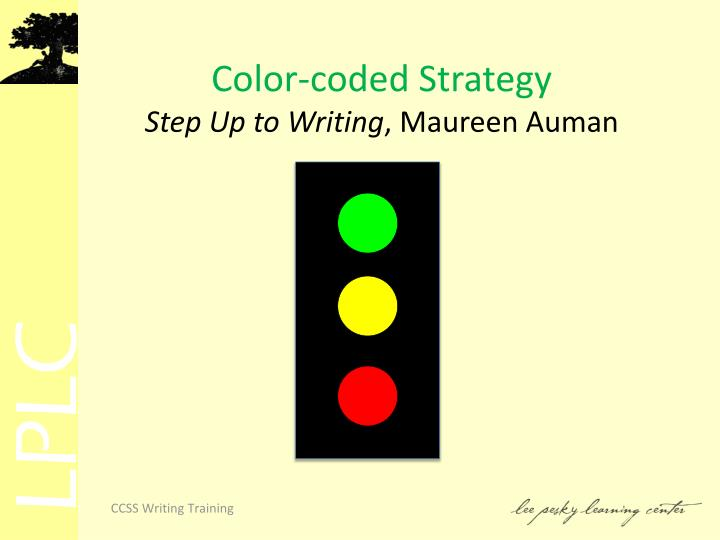 Color-coded Strategy