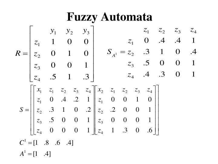 Fuzzy Automata