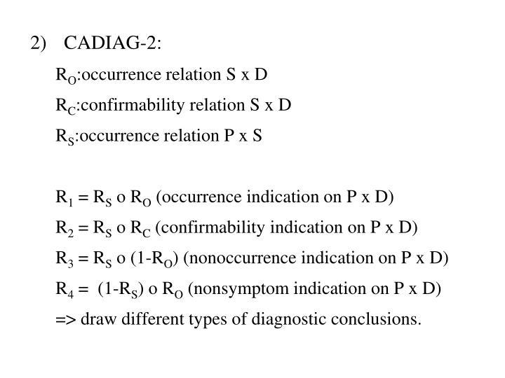 CADIAG-2: