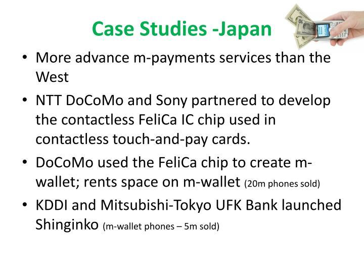 Case Studies -Japan