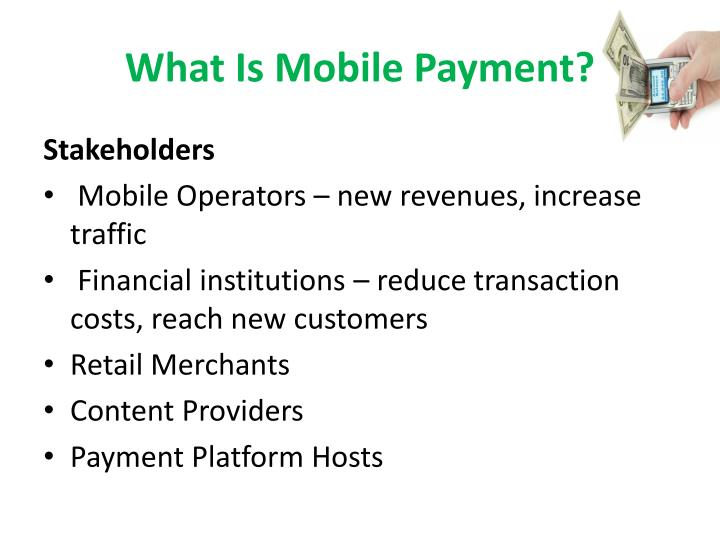 What Is Mobile Payment?