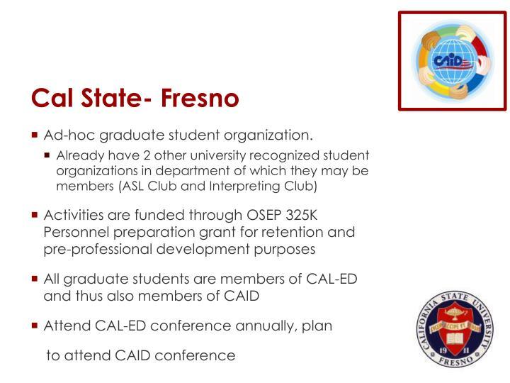 Cal State- Fresno