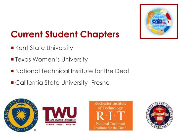 Current Student Chapters