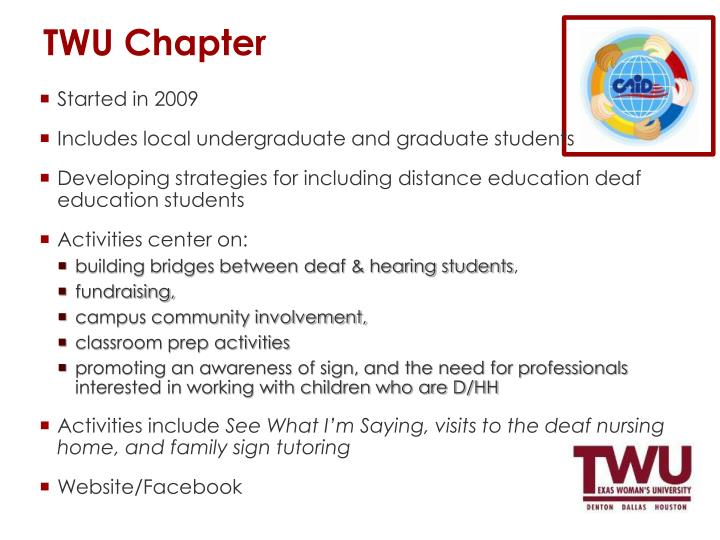 TWU Chapter