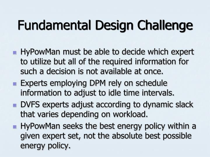 Fundamental Design Challenge