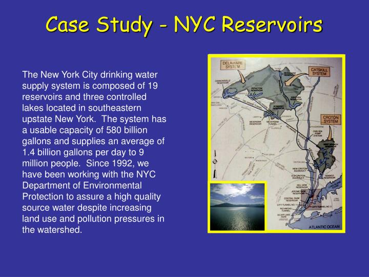 Case Study - NYC Reservoirs
