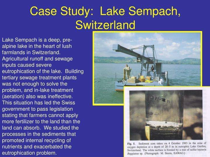 Case Study:  Lake Sempach, Switzerland
