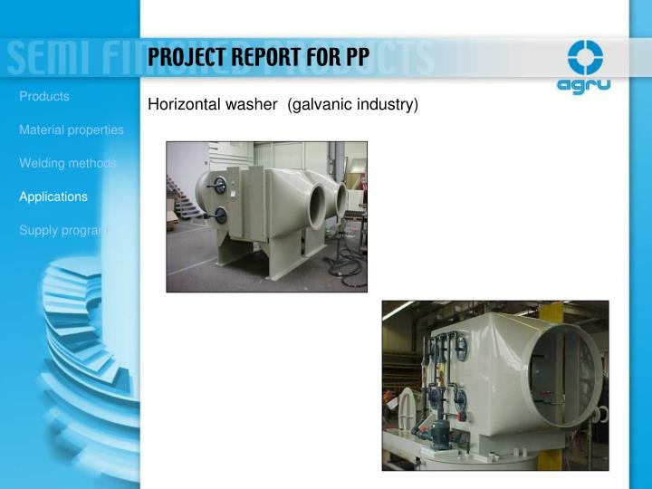 PROJECT REPORT FOR PP
