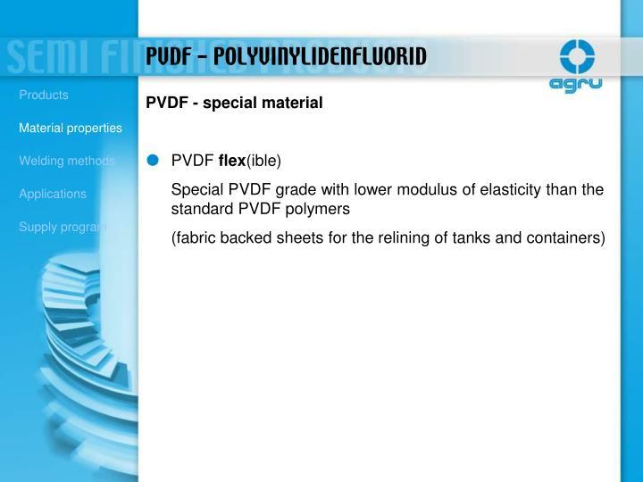 PVDF - special material