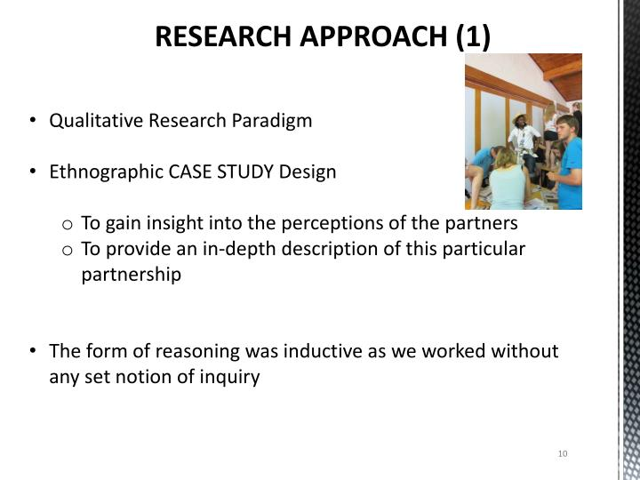 RESEARCH APPROACH (1)