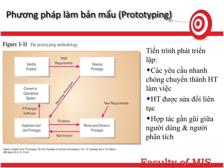 Phương pháp làm bản mẩu (Prototyping)