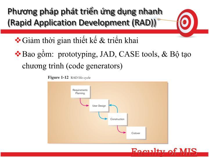 Phương pháp phát triển ứng dụng nhanh (Rapid Application Development (RAD))