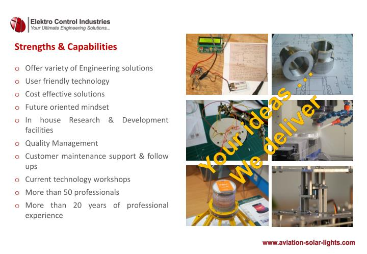 Strengths & Capabilities