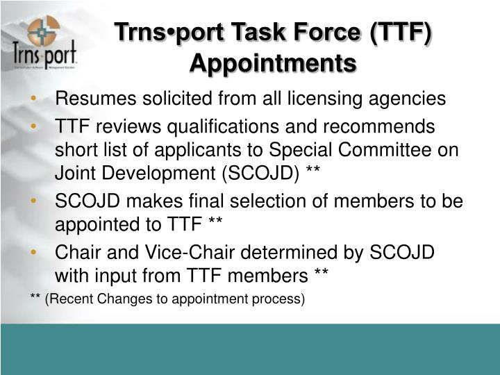 Trns•port Task Force