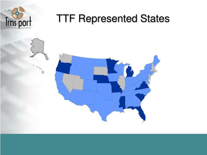 TTF Represented States