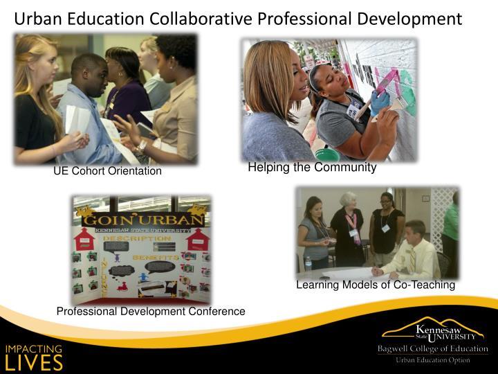 Urban Education Collaborative Professional Development