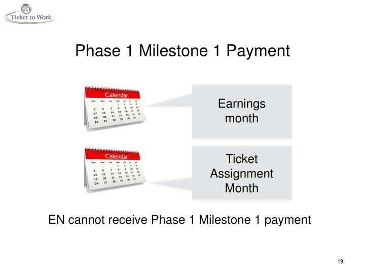 Phase 1 Milestone 1 Payment