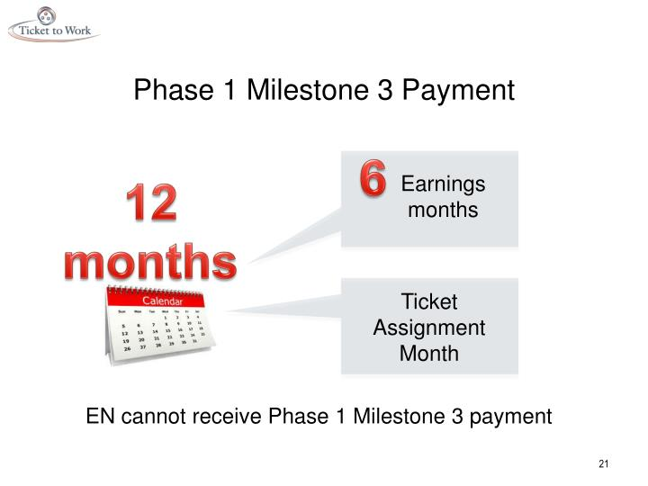 Phase 1 Milestone 3 Payment