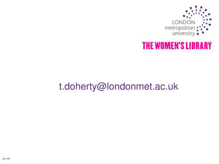 t.doherty@londonmet.ac.uk
