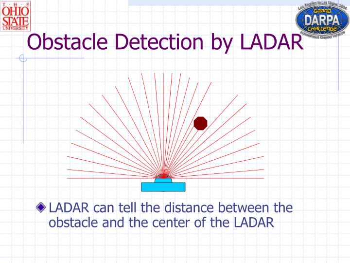 Obstacle Detection by LADAR