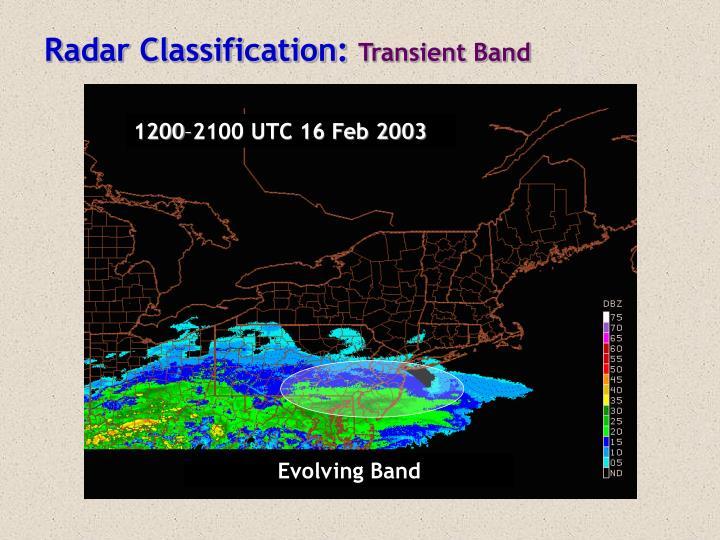 Radar Classification: